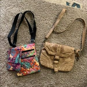 ⚠️ Damaged - Purse Bundle One purse repaired by